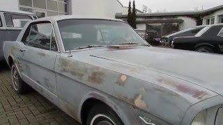 "1966 Ford Mustang V8 ""C-Code"" Hardtop Coupé mit 4 Gang Toploader -- Video II"