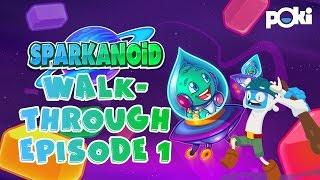Sparkanoid Walkthrough! Poki Game Movies