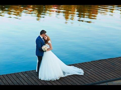 Красивая свадьба в шатре  Юра и Венера  21 08 15г  Белый Берег