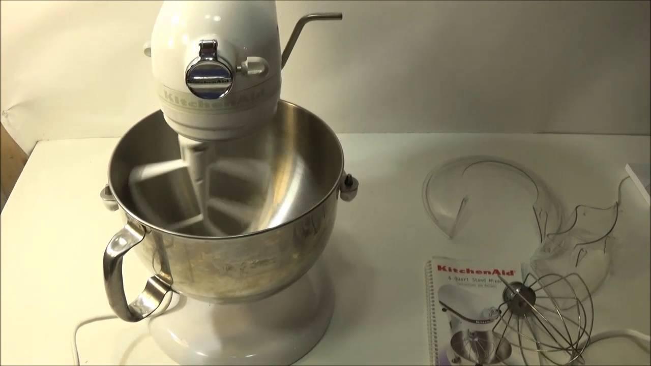 Kitchenaid Epicurean 6 Qt Stand Mixer Kt2651x Kt2651xww