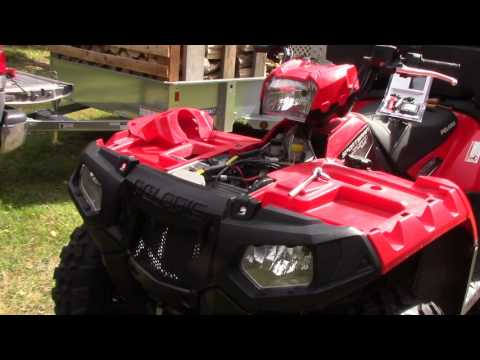 Attaching a Trickle Charger to the 4-Wheeler