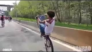 skill wheelie diorang tahap gaban