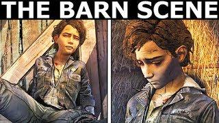 The Barn Scene - The Walking Dead Final Season 4 Episode 4: Take Us Back