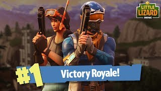 NOOBS GET THEIR FIRST WIN!!*Victory Royale* Fortnite Short Film thumbnail