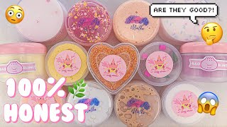 UNDERRATED INSTAGRAM SLIME SHOP REVIEW! PATTY SLIMES, BAO SLIME, & SLIMES BY MALKA