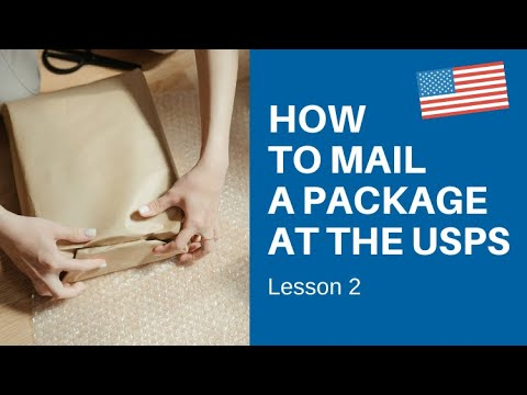 How To Mail A Package At The USPS - Lesson 2 - Learn American English Online