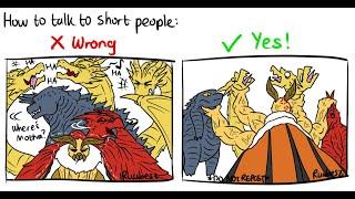 Godzilla KOTM | Mothra DESTROYS Godzilla King Ghidorah and Rodan! (Godzilla Comic Dub)