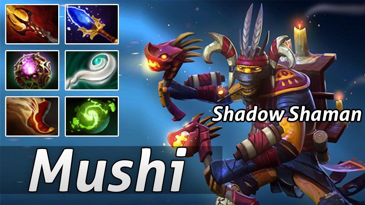 shadow shaman mid dota 2 pro build by mushi intense base race