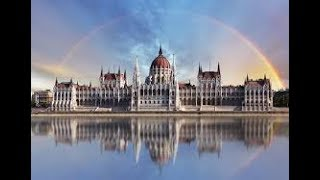Будапешт Парламент Макдональдс КФС/Budapest parlament mcdonalds KFC