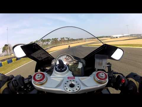 [KRT] Le Mans - FFM - Session 3 - Groupe Rouge - Aprilia RSV