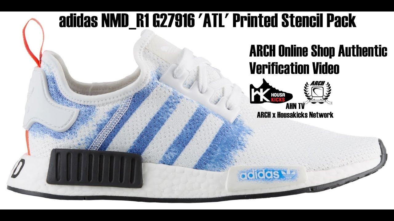 adidas NMD_R1 G27916 'ATL' Printed