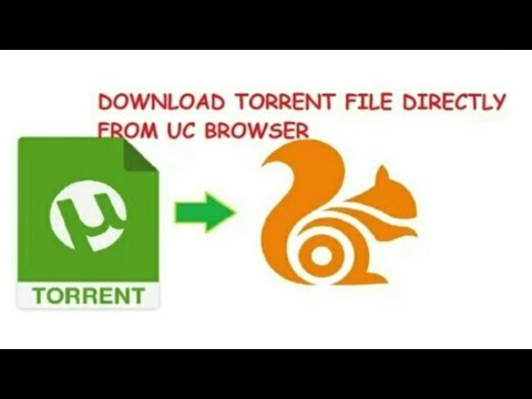 How to download torrent link in ucbrowser or any other browser without using uTorrent