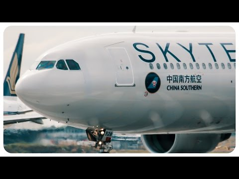SKYTEAM China Southern Airbus A330 Takeoff - Melbourne Airport to Guangzhou Airport - [CSN344]