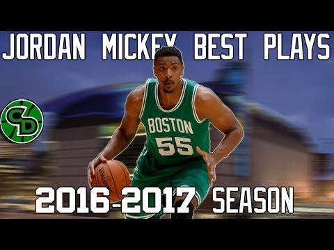 Jordan Mickey Best Plays 2016-17 NBA Season