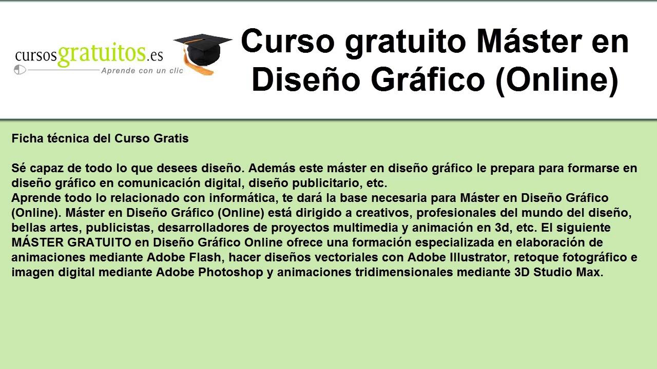 Curso de dise o grafico online gratis youtube for Curso de diseno grafico gratis pdf