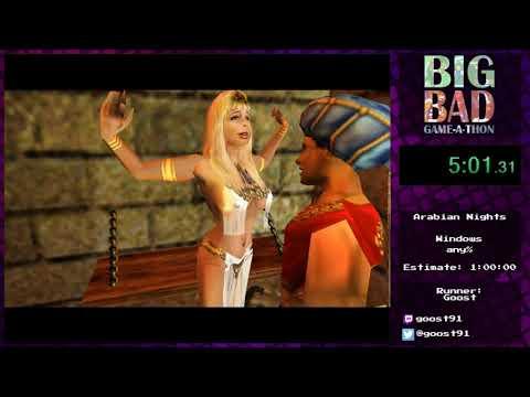 Big Bad Game-a-thon 2017 - Arabian Knights by Goost