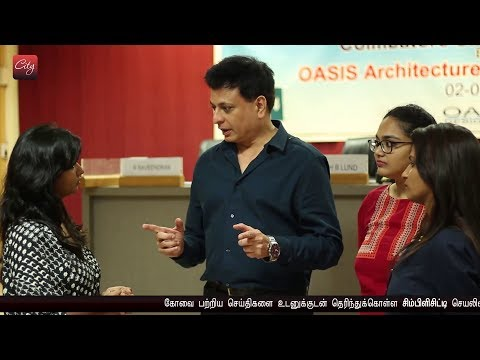 OASIS, Inc. Delhi briefs on plan to restore water bodies in Coimbatore