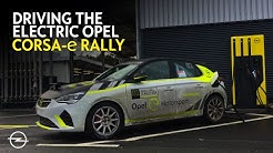 Driving a Lap with the Electric Opel Corsa-e Rally