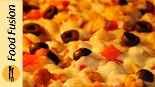 Bread Pizza Recipe by Food Fusion