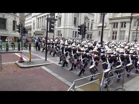 Royal Marines Beating Retreat 2018