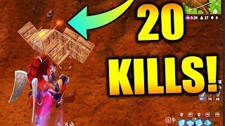 INSANE 20 KILL SOLO WIN!!! (Fortnite Battle Royale Solo Win Gameplay)