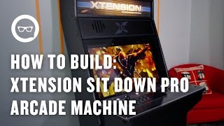 Building An Arcade Machine: Xtension Sit Down Pro Arcade Machine For Xbox 360 And Ps3