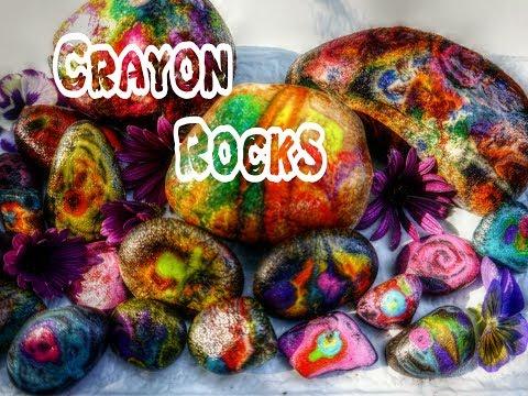 Crayon Rocks {Hot Rocks} Craft