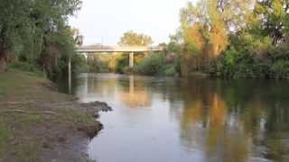 The Stanislaus River In Stanislaus County California
