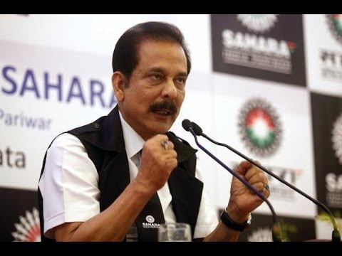 Subrata Roy files plea in SC against arrest warrant