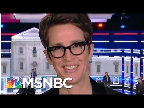 Maddow Credits Tough-As-Nails Co-Moderators For Smooth Debate | MSNBC