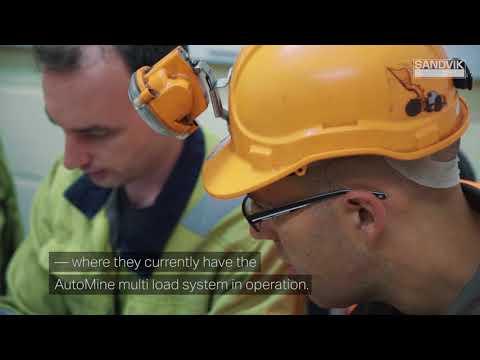 Sandvik Employee Story -  Mining Automation