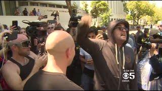 Fights Erupt Between Trump Supporters, Demonstrators