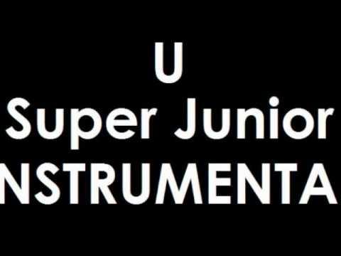 U Super Junior Instrumental Karaoke