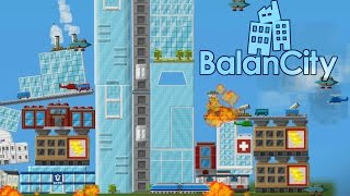 BalanCity - Deadly Alien Attack! - Let's Play BalanCity Gameplay