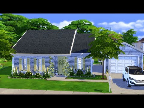 THE SIMS 4: SPEED BUILD // YELLOW BUNGALOW thumbnail