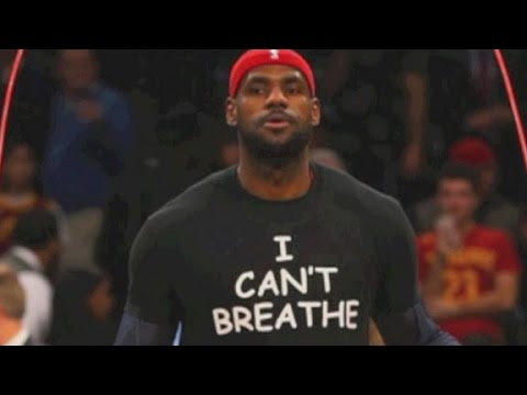 NBA players protest Eric Garner chokehold death decison