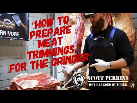 How To Make Ground Beef, Bison Or Venison Etc. By The Bearded Butchers!