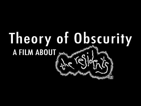 Theory Of Obscurity: A Film About The Residents (HD)