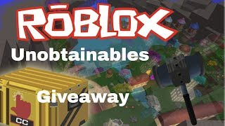 [ENDED] CASE CLICKER 50K Unobtainable Giveaway - Roblox
