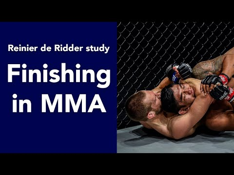 ONE FC champ Reinier de Ridder and his scary submission game