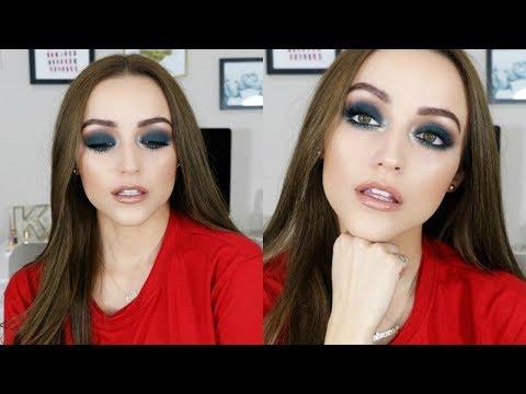 Matte Blue-Teal Smokey Eye | Makeup Tutorial