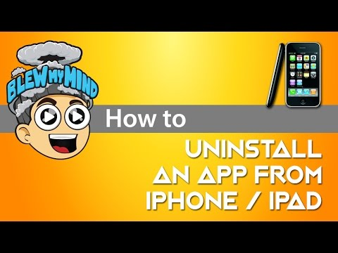 how to delete default apps on iphone uninstall an app application from your iphone 3g 4g 4gs 19971