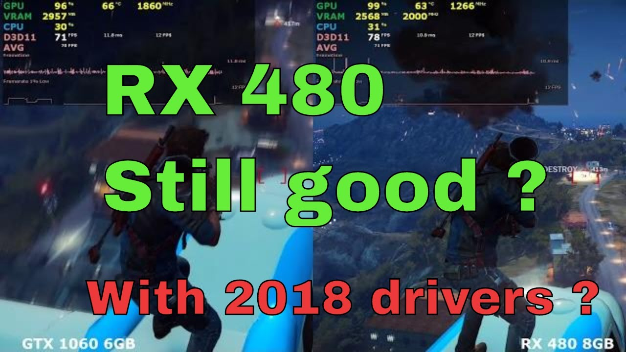 Is RX 480 still worth in 2018 ? Compared gtx 1060 in 11 Games