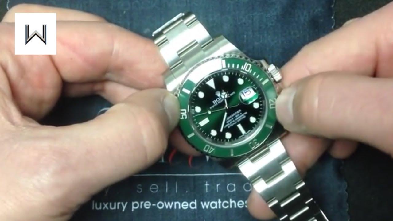 Rolex submariner two tone on wrist