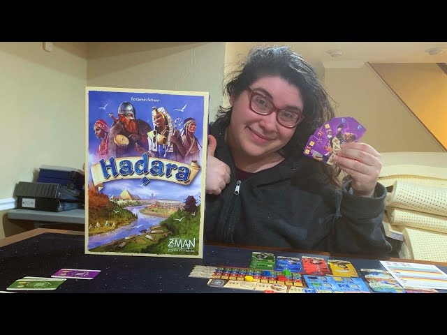 DGA Plays Board Games: Hadara