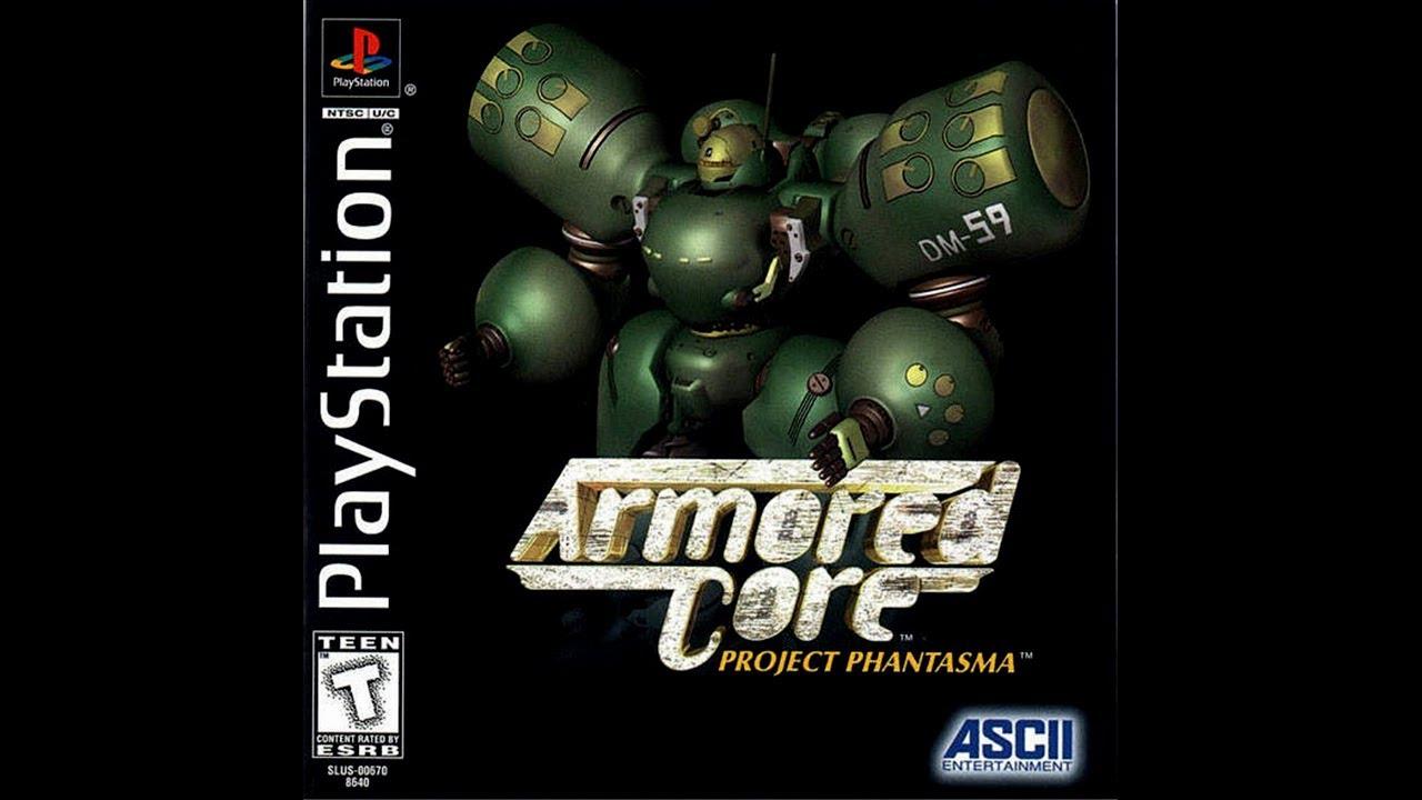 armored core project phantasma ps1