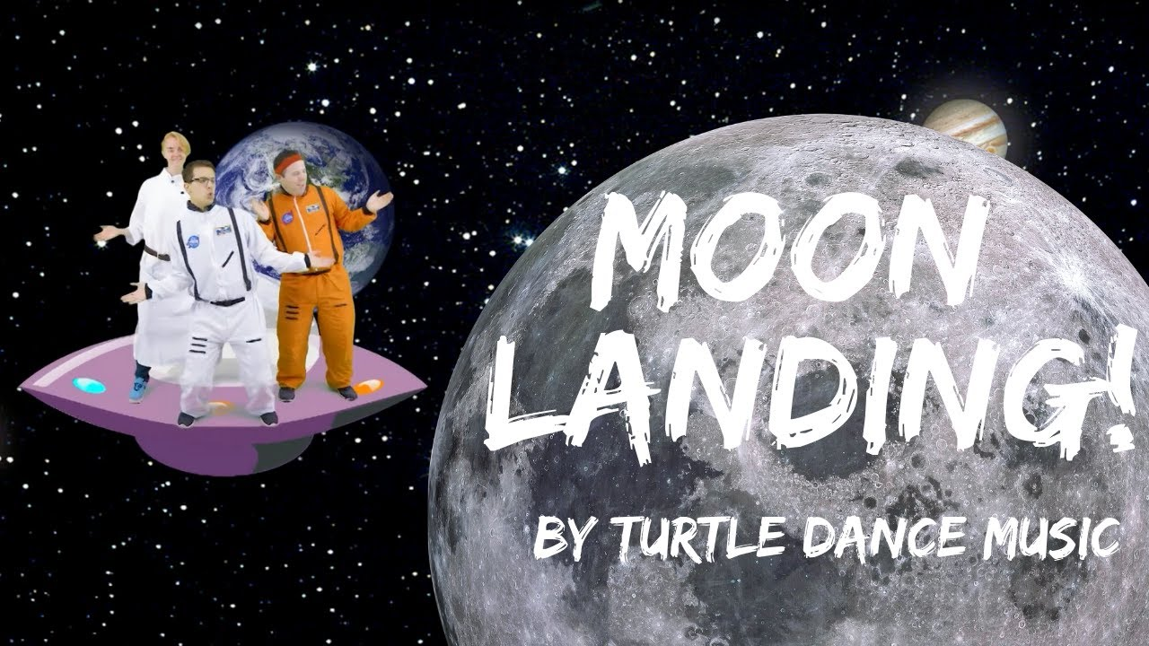 Turtle Dance Music Moon Landing Dance A Long Youtube