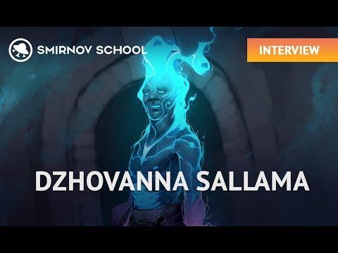 CG INTERVIEW:  DZHOVANNA SALLAMA