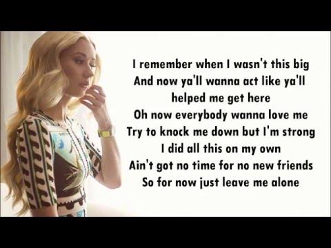 Don't Need Y'all - Iggy Azalea - Karaoke & Lyrics
