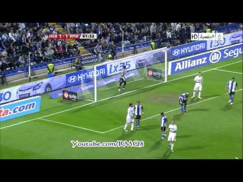 Hercules Vs Real Madrid Full Highlights + All Goals HD  Week 9 Liga BBVA 2010-2011